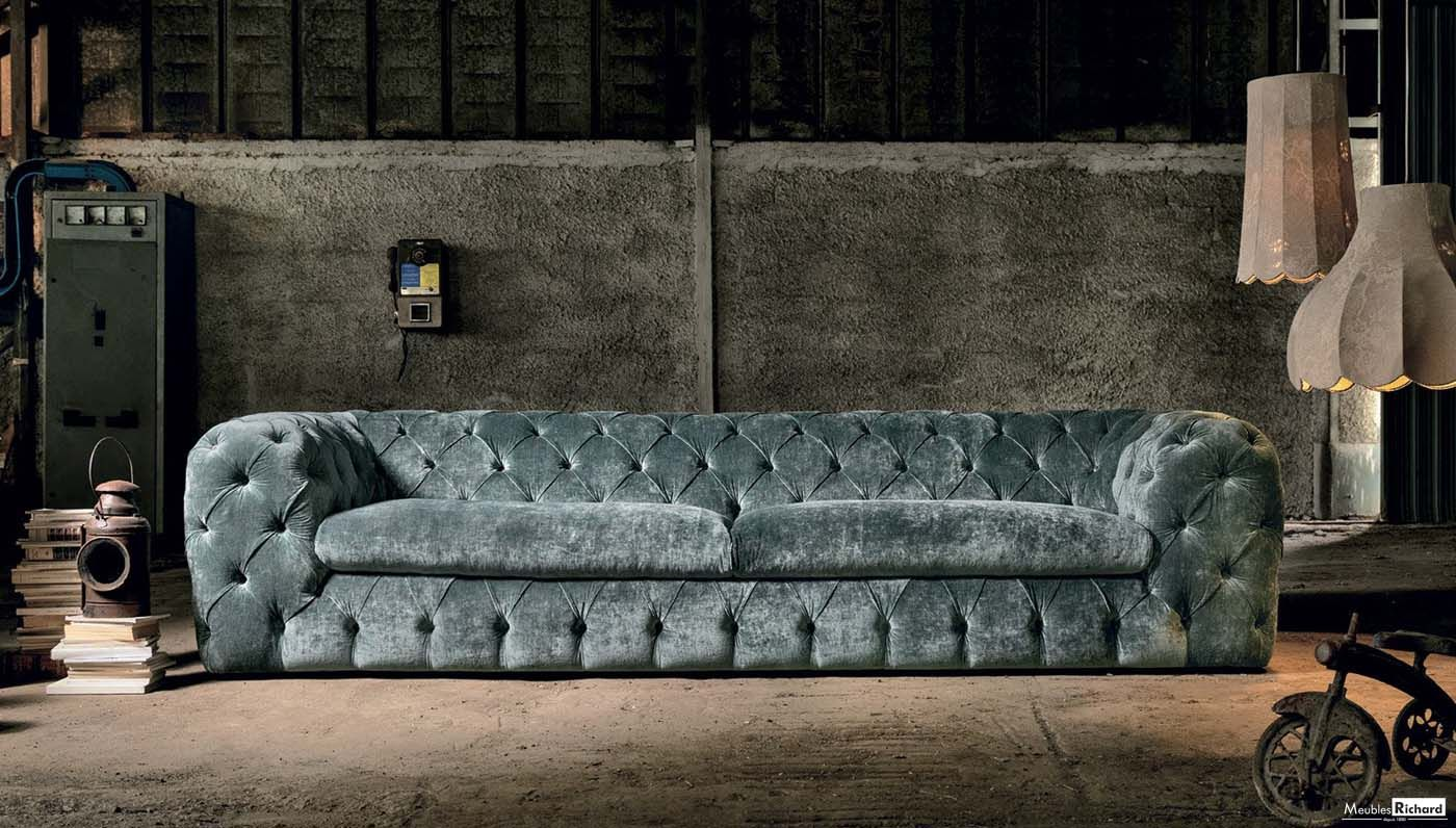 Canape Chesterfield Belgique France Et Luxembourg Bank