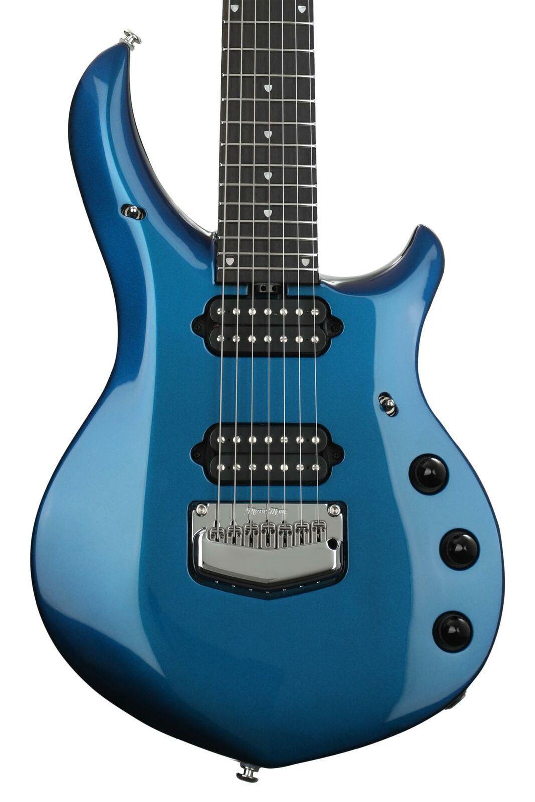 Ernie Ball Music Man John Petrucci Majesty 7 Electric Guitar Kinetic Blue Electric Guitar Guitar Guitar Online