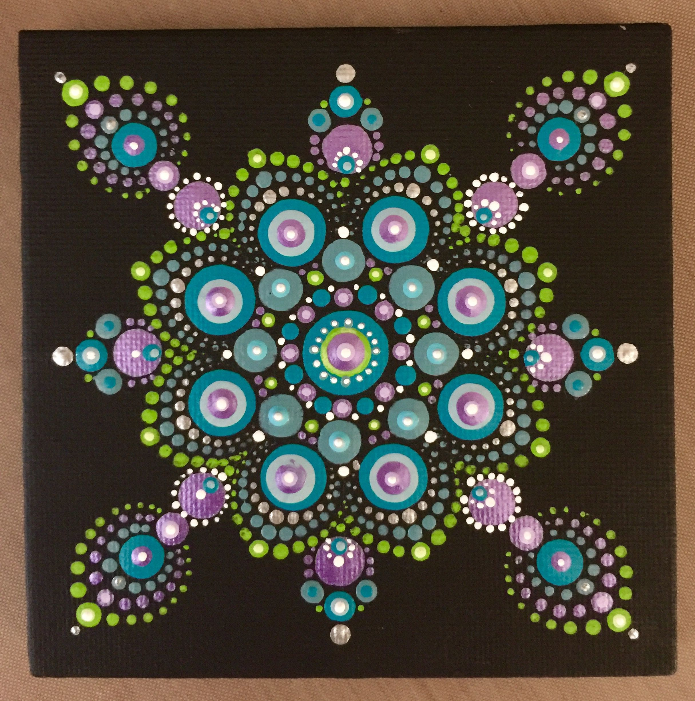 Peacock Dot Mandala Patterns - Year of Clean Water