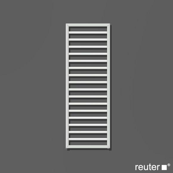 Villeroy \ Boch by Zehnder Subway Badheizkörper weiss Breite 450 - badezimmer heizk rper elektrisch