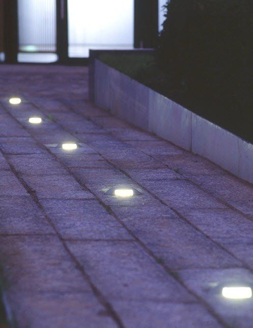Recessed Floor Light For Public Spaces Pescara Led Hess Ag Urban