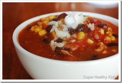 Too Simple Taco Soup Recipe #tacosoup