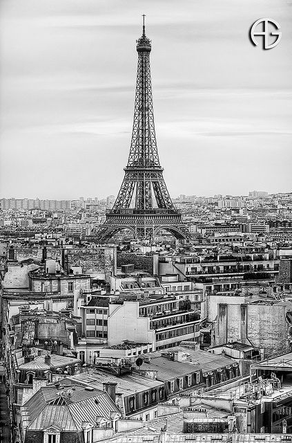 Eiffel by A.G. Photographe, via Flickr