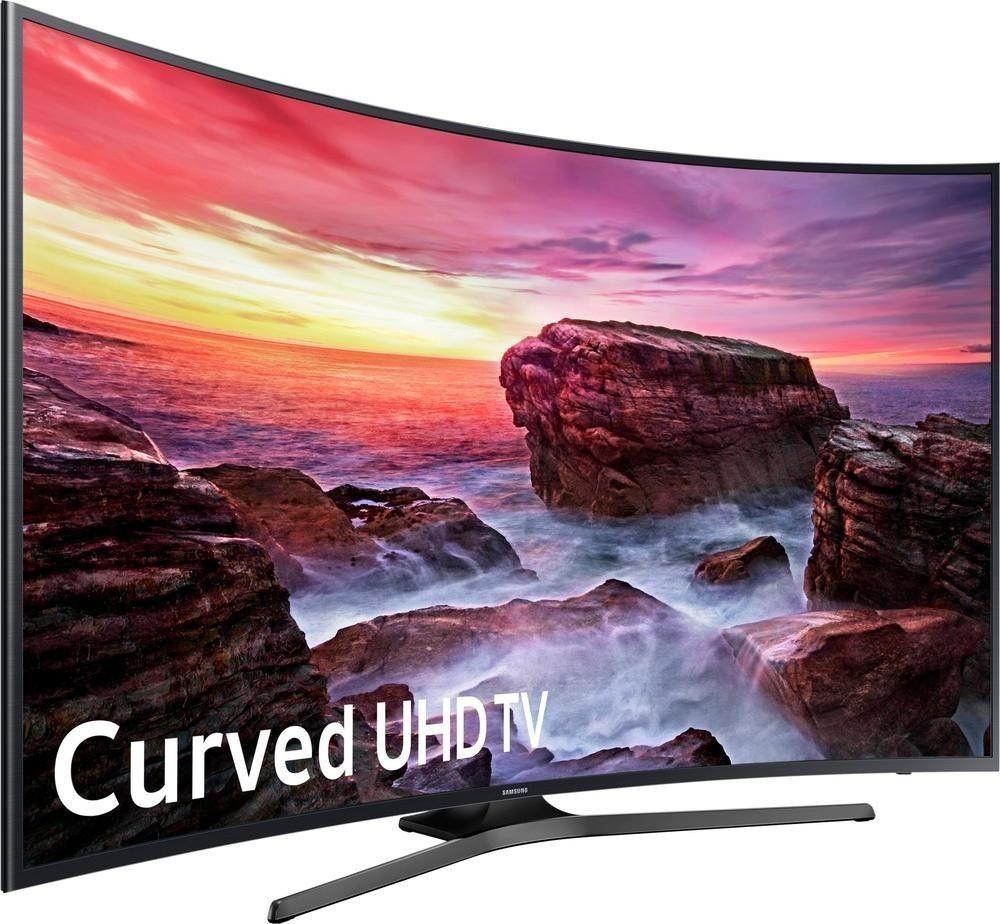 Samsung Un55mu6500 120hz 2160p Curved 55 Inch 4k Ultra Hd Smart Led Tv Samsung Tv 4k Ultra Hd Tvs Led Tv Uhd Tv