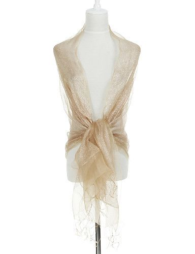 Beautiful Silk Evening Casual #Shawl Mores by Light in the Box