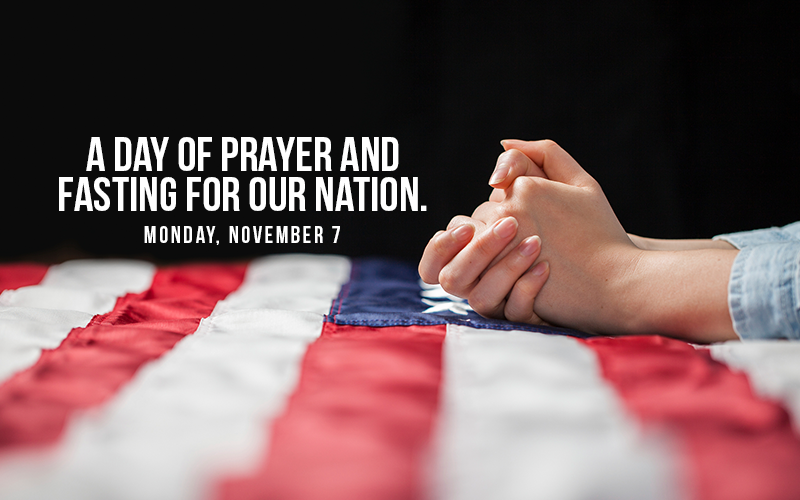 Join Afa For Day Of Prayer And Fasting Sign The Petition And Commit Monday November 7 To A Day Of Prayer And Fasti National Prayer Day Daily Prayer Prayers