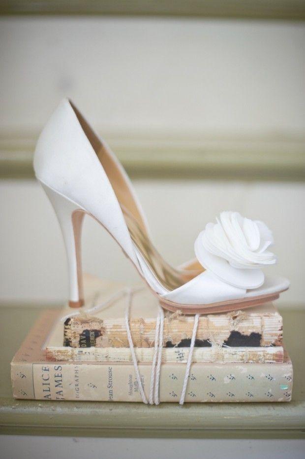 19 Preciosos Zapatos para Novias de Badgley Mischka | Wedding shoes ...