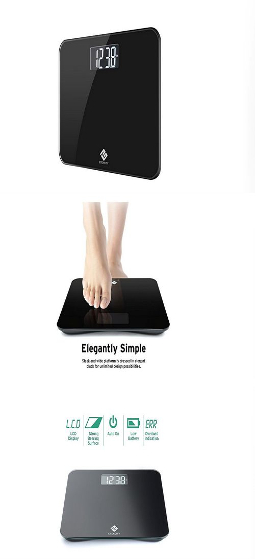 Scales Etekcity Digital Body Weight Bathroom Scale With - Large display digital bathroom scales for bathroom decor ideas