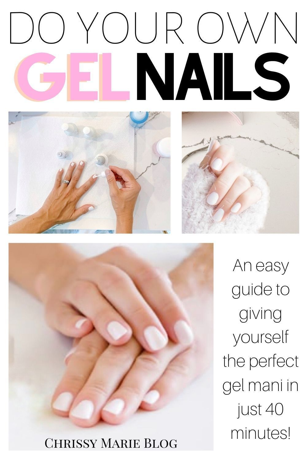 Gel Nails At Home A Tutorial For Beginners In 2020 Gel Nail Tutorial Gel Nails Diy Gel Nail Kit