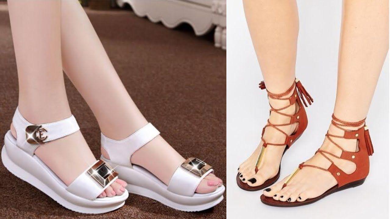 Beautiful Ladies Flat Sandals Ideas