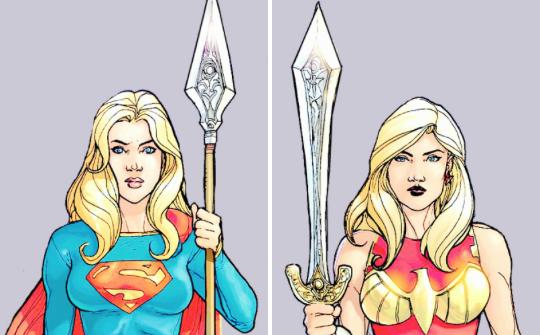Cassie Sandsmark & Kara Zor-El // Amazons Attack Issue #3