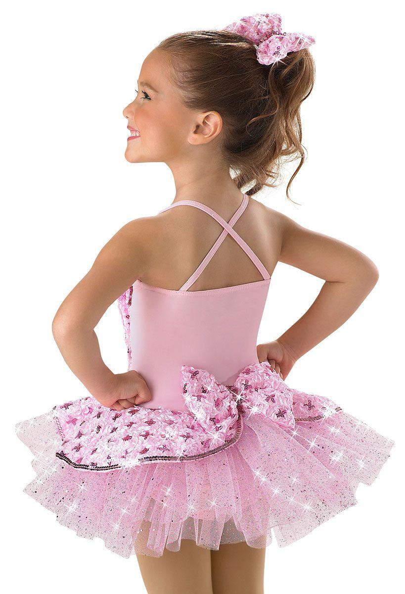 6798bc2e048b Pink Satin Sequin Dance Dress -Weissman Costumes