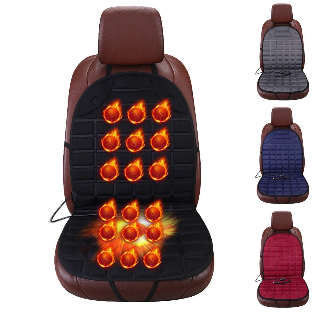 Dewtreetali 12v Seat Heated Front Car Seat Heater Warmer Winter
