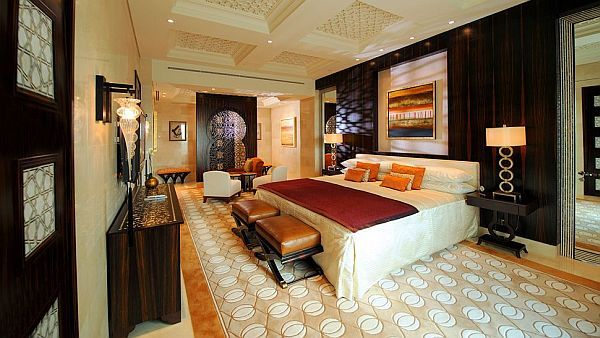 The Luxurious Pyramid Raffles Dubai Hotel Luxury Hotel Bedroom