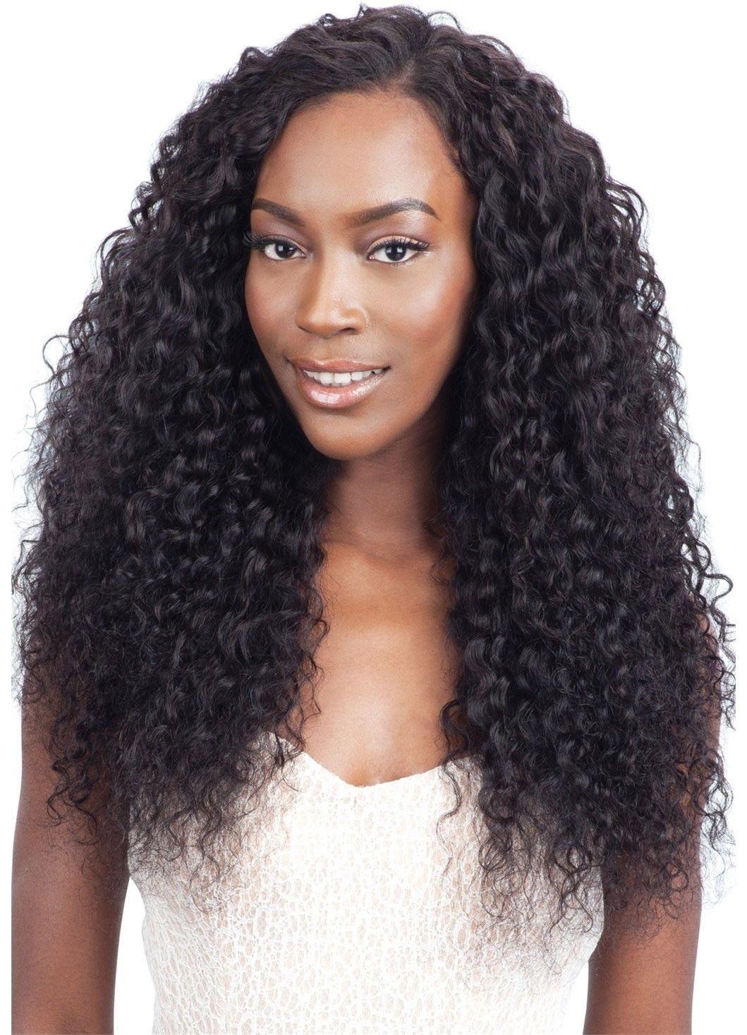 Model Fresh Wet Wavy Human Hair Brazilian Virgin Remy Deep Wave Can Be Straightened With Flat Iron And Wash It For A Natural Way Curl