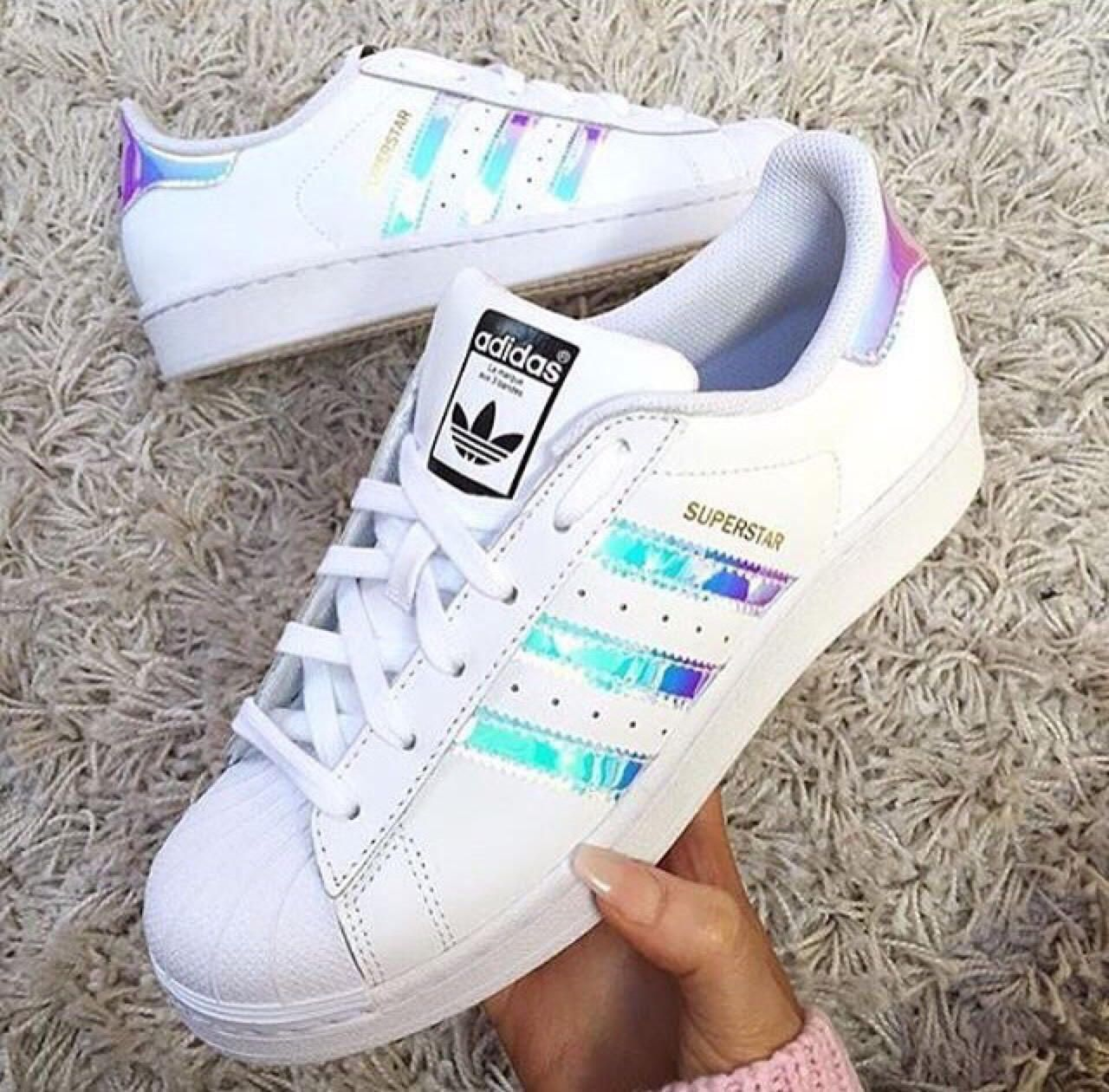 adidas superstar reflective rosse