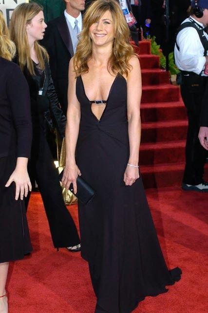 Jennifer Aniston, Valentino, Golden Globes 2004
