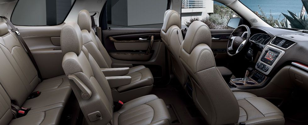 2014 Acadia Denali Crossover Vehicle Interior Photos Gmc