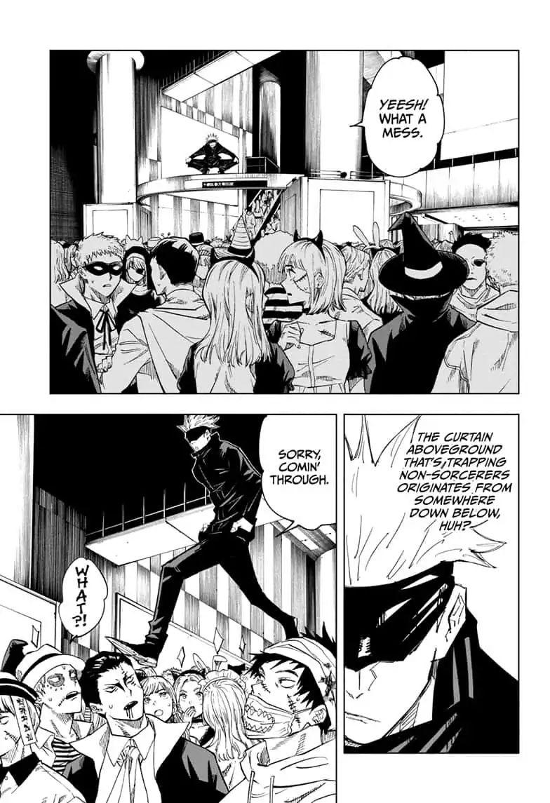 Jujutsu Kaisen Chapter 83 The Shibuya Incident Part 1 Page 11 Manganelo Com Jujutsu Manga Oku Manga