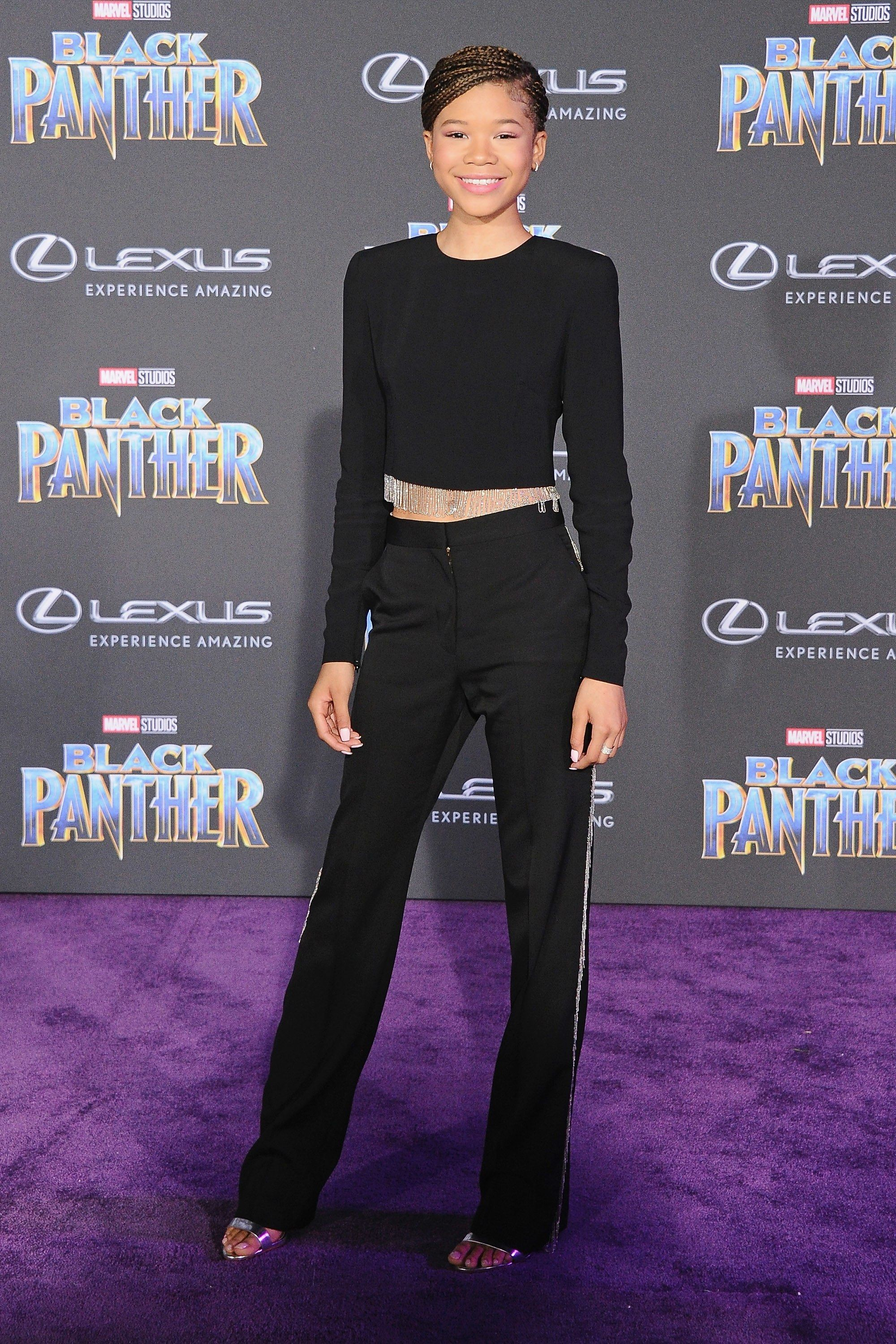 The Black Panther Red Carpet Was A Study In Black Excellence Best Celebrity Dresses Red Carpet Outfits Celebrity Look