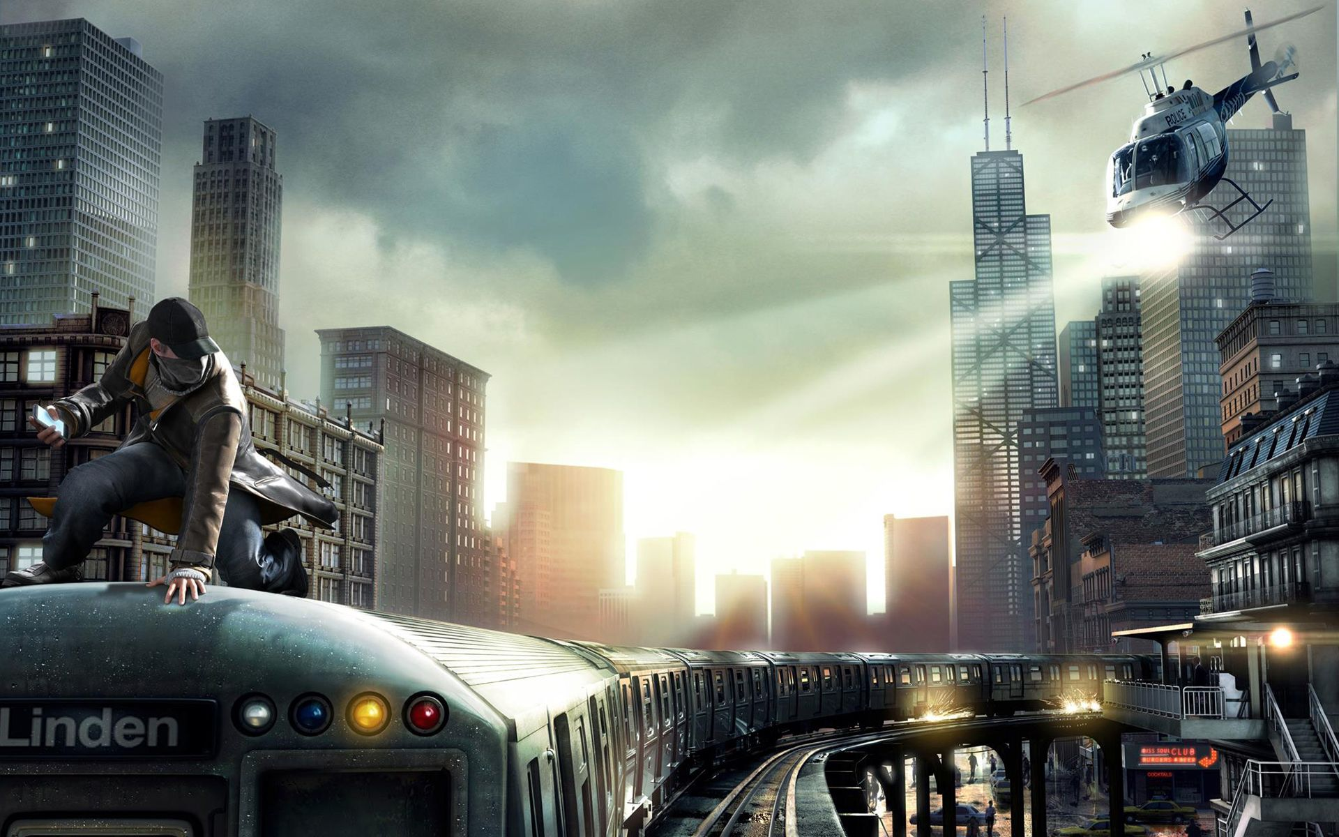 Ps Game Wallpapers Hd Watch Dogs