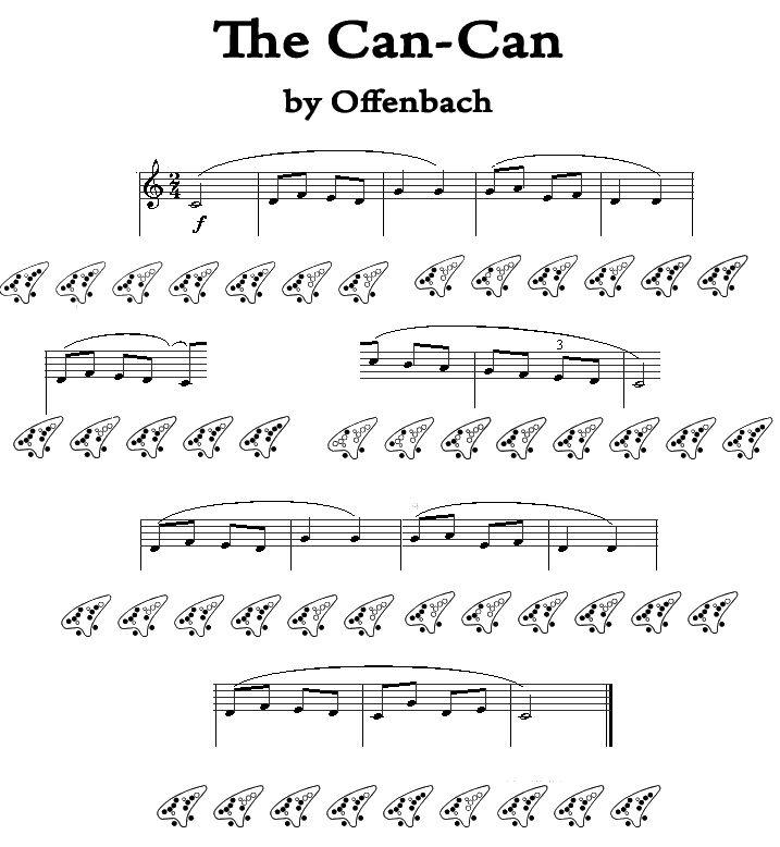 how to read ocarina sheet music
