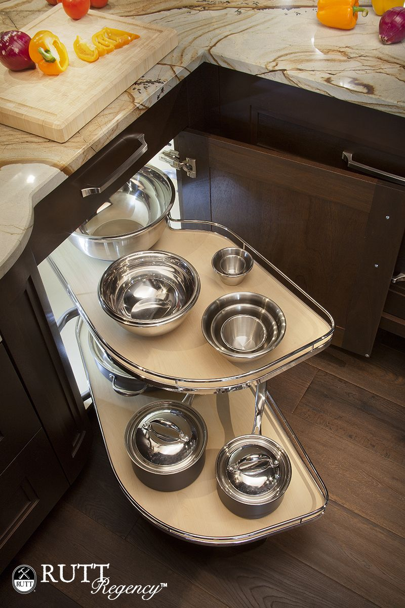 LeMans II Swing Out Shelf System for blind corner cabinets ...