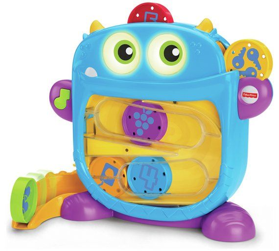 Buy Fisher-Price Hungry Monster Maze at Argos.co.uk, visit Argos.co.uk to shop online for Baby activity toys, Baby toys, Baby and nursery