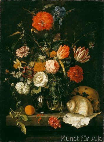 Jan Davidsz de Heem  Memento mori 580 x 790 cm