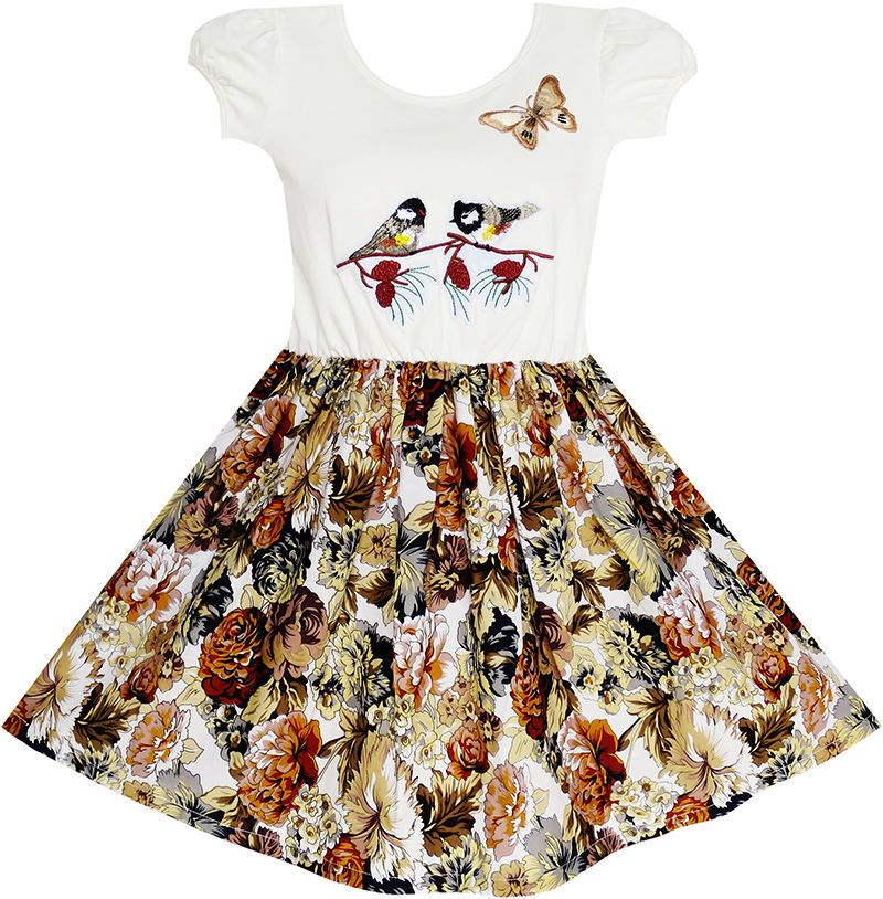 Sunny Fashion Girls Dress Sleeveless Pink Owl A-line Cotton Casual Size 2-6