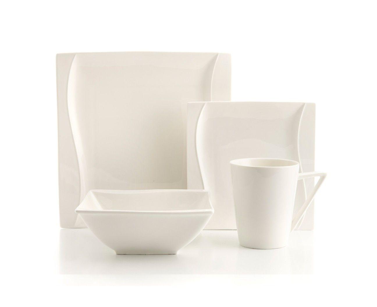 ZEN WHITE 16-PIECE DINNERWARE SET - Dinnerware - Dining | Stokes Inc. Canada\u0027s  sc 1 st  Pinterest & ZEN WHITE 16-PIECE DINNERWARE SET - Dinnerware - Dining | Stokes Inc ...