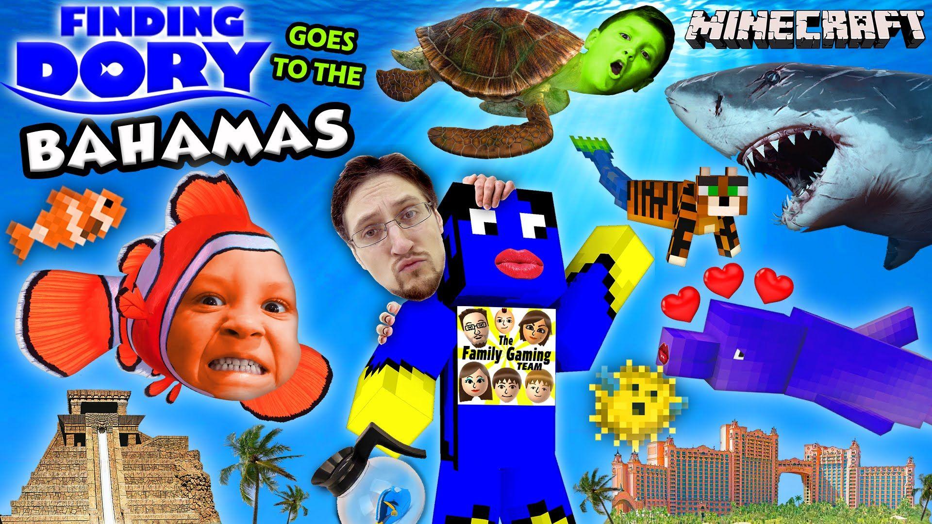 Fgteev Ninja Simulator Roblox Youtube Finding Dory In Bahamas Minecraft Fgteev Boys Atlantis Resort Hotel W Crazy Kids Dory Finding Dory