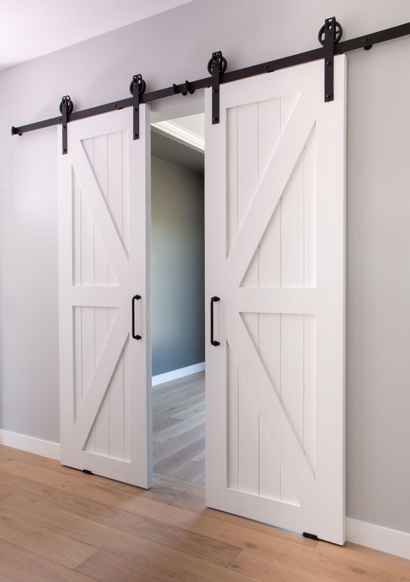 Custom Designed And Built Barn Sliding Doors.