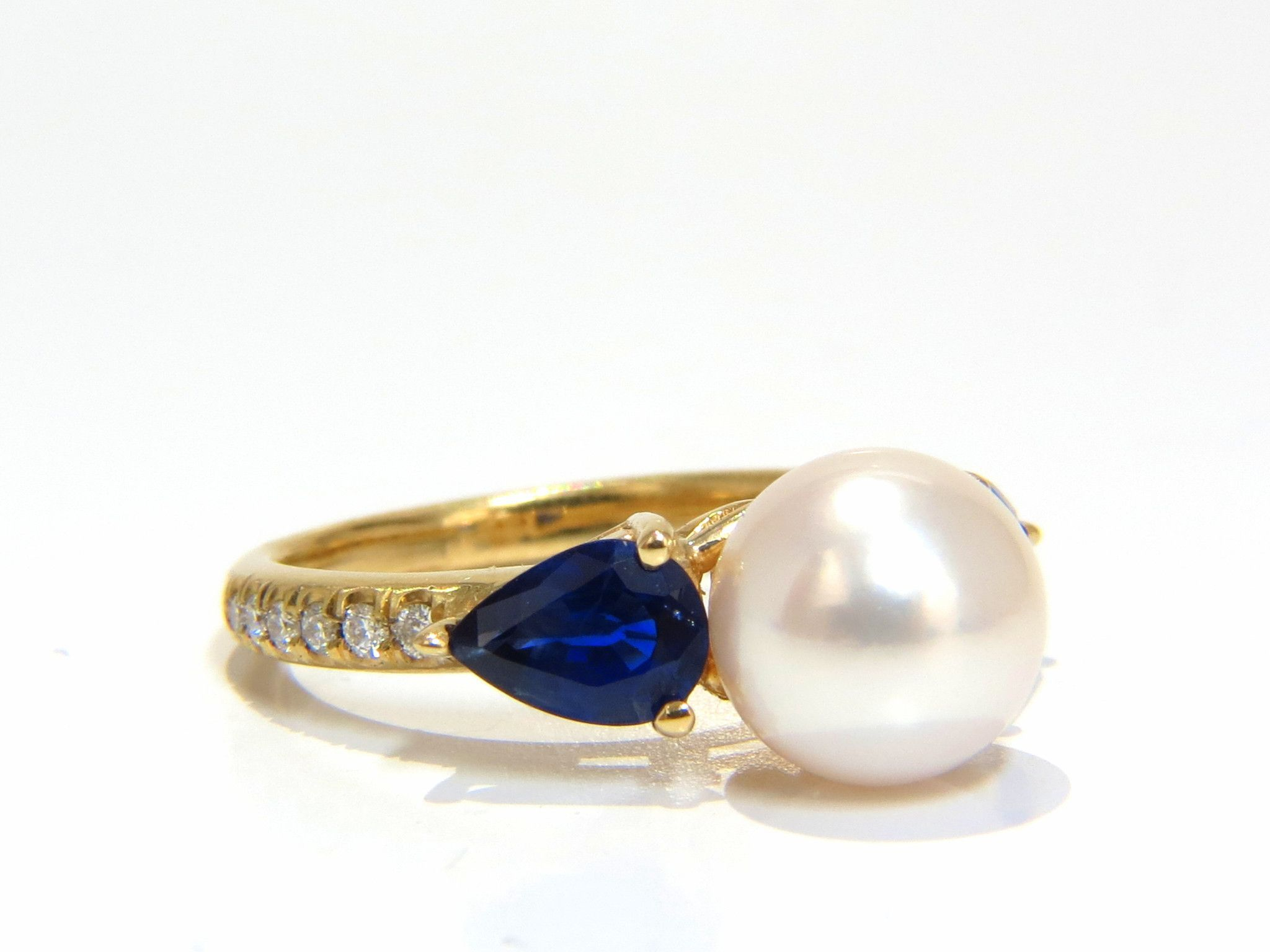 in pearl spider sale unique gold pearls and sapphires new blue wave sapphire products jewellery earrings