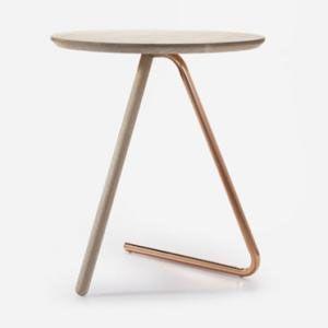 Copper Side Table Mesa De Apoio Moveis Modernos Tabela De Projeto