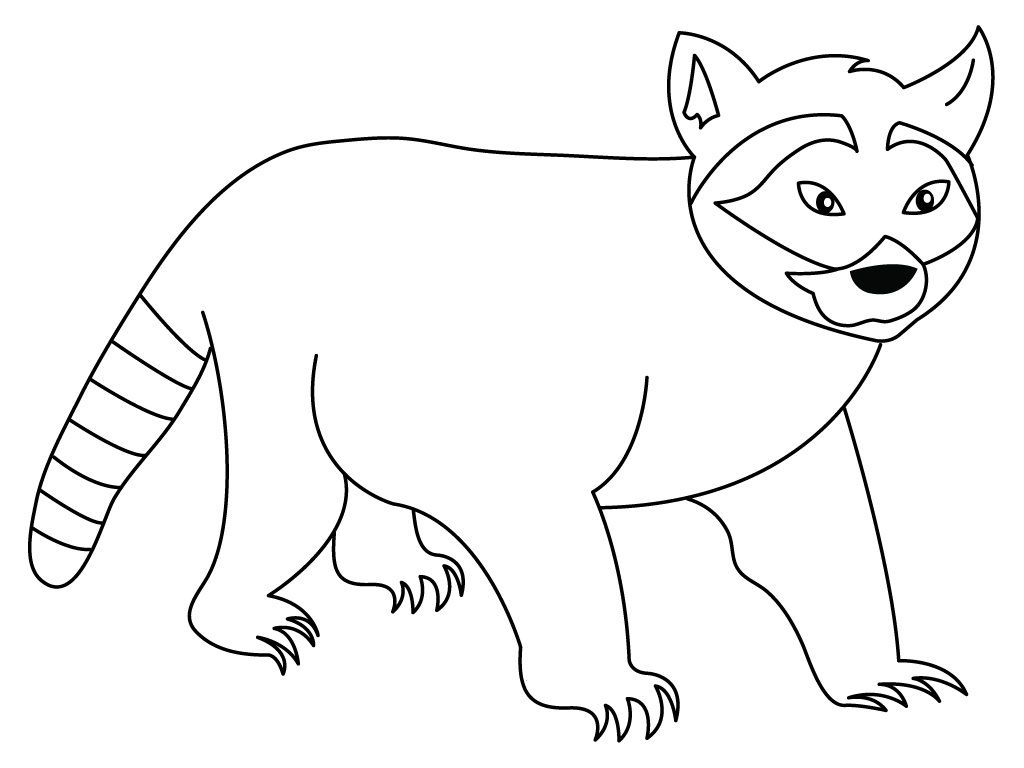 Free Printable Raccoon Coloring Pages For Kids Dog Coloring Page