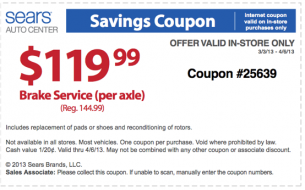 sears coupons for shoes in store