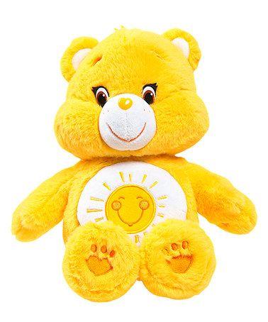Look what I found on #zulily! Care Bear Funshine Bear Medium Plush & DVD #zulilyfinds