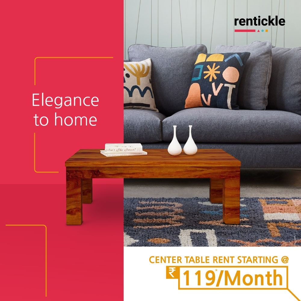 Elegance To Home Rentickle Center Table Wooden Center Table Living Room Designs