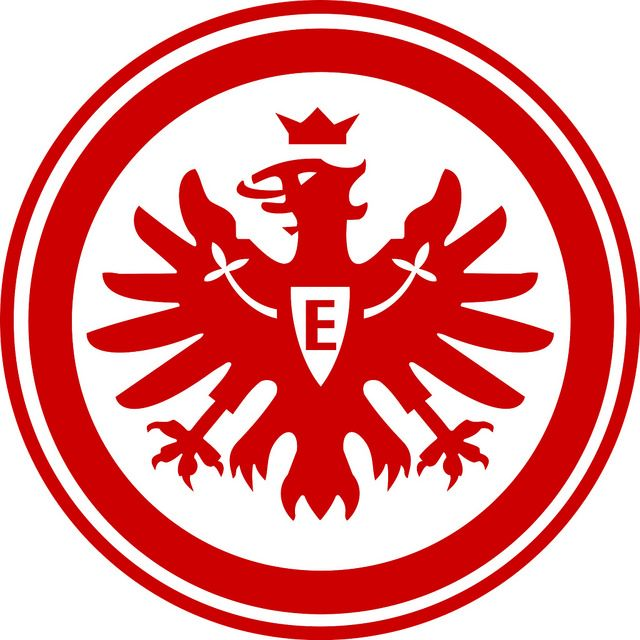 Eintracht Frankfurt e.V. | Country: Germany / Deutschland. País: Alemania. | Founded/Fundado: 1899/03/08. Badge / Crest / Escudo.