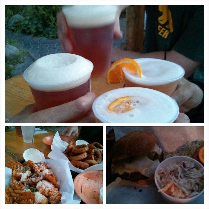 Full bar and great food at the bridgetender north lake