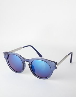 Trip Crystal Round Sunglasses