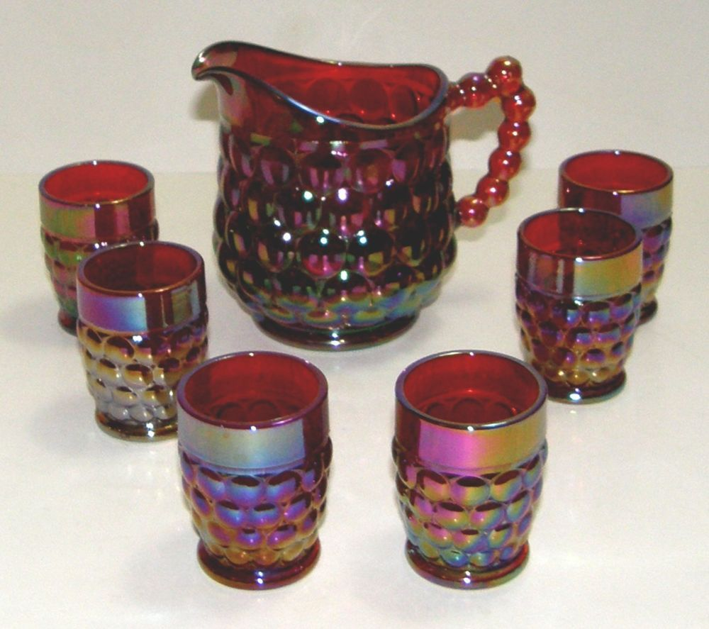 Limited Edition – Westmoreland Glass Child's Beverage set ...