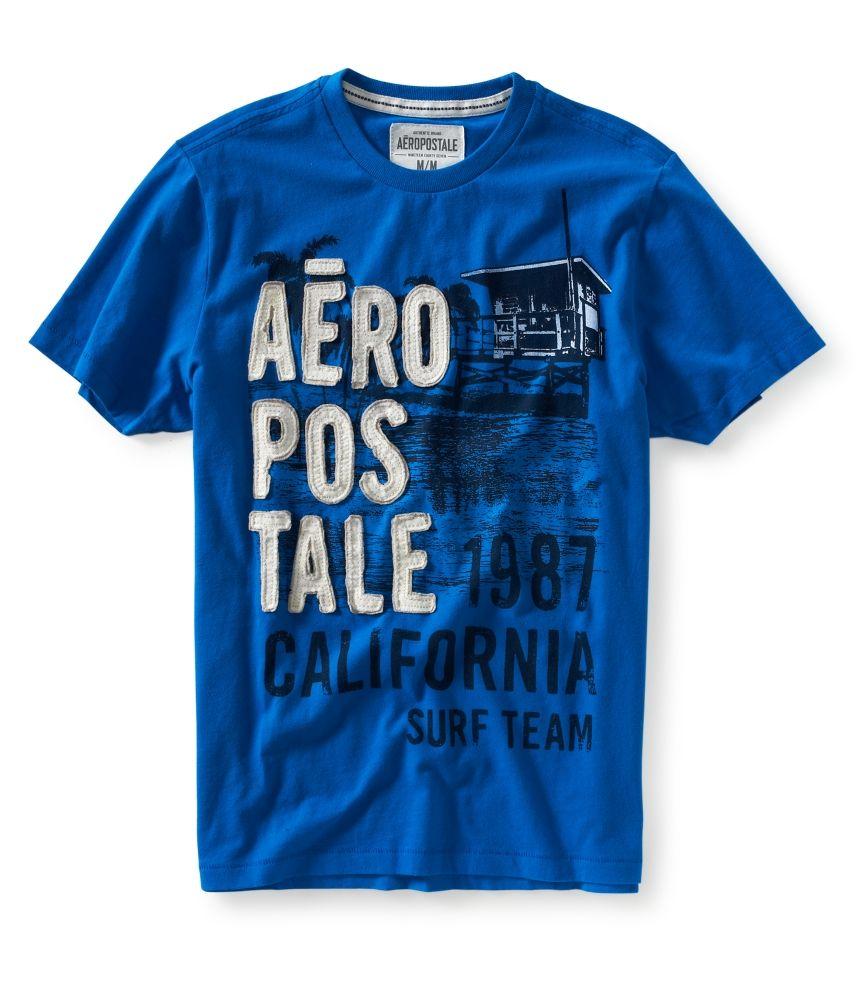 aeropostale for men   aeropostale mens aero 87 seaside graphic t shirt ef2ad956e3