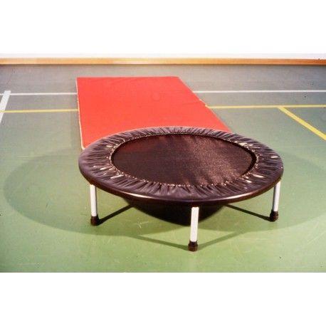 mini trampolino elastico rotondo per ginnastica artistica