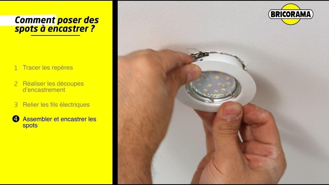 Tuto Poser Des Spots Encastres Au Plafond Bricorama Youtube In 2020