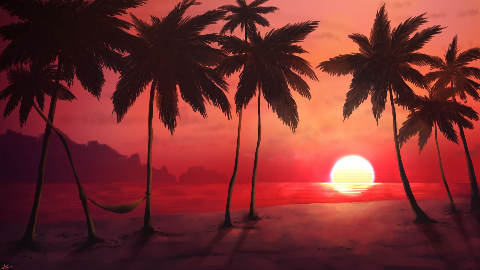 600x900 Sunset Tropical Beach Palm Trees Wallpaper Beach Sunset Wallpaper Sunset Wallpaper Palm Trees Wallpaper