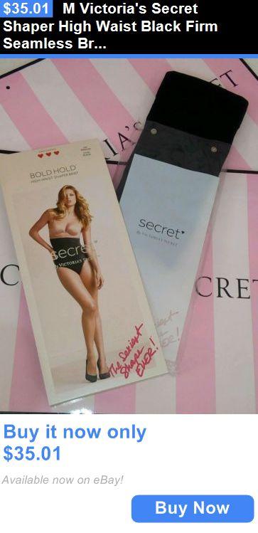 9cde50f5cdfb8 Women Shapewear  M Victorias Secret Shaper High Waist Black Firm Seamless Brief  Bold Hold BUY