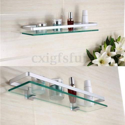 Glasregal Glasboden Klarglas Wandregal Badezimmer Regal Ablage Kuechen Regale Neu Badezimmer Regal Glas Badezimmer Badezimmer