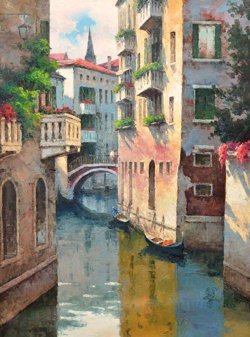 Venice 3 Gallery Wrap